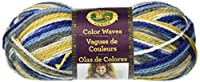 Lion Brand Yarn 595-203 Color waves Yarn, Deep Blue Sea