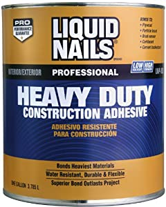 Liquid Nails Heavy Duty Construction Adhesive Cartridge 28 Oz