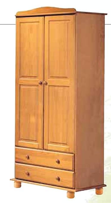 La Factoría Muebles - Armario 2 puertas y 2 cajones en , talla 90 x 197 x 52cm