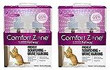Comfort Zone 4-Pack with Feliway for Catridge 1.62 fl. oz., Refills