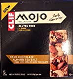 Clif Mojo Trail Mix Dark Chocolate Almond Sea Salt Bar 5 Ct (Pack of 4)