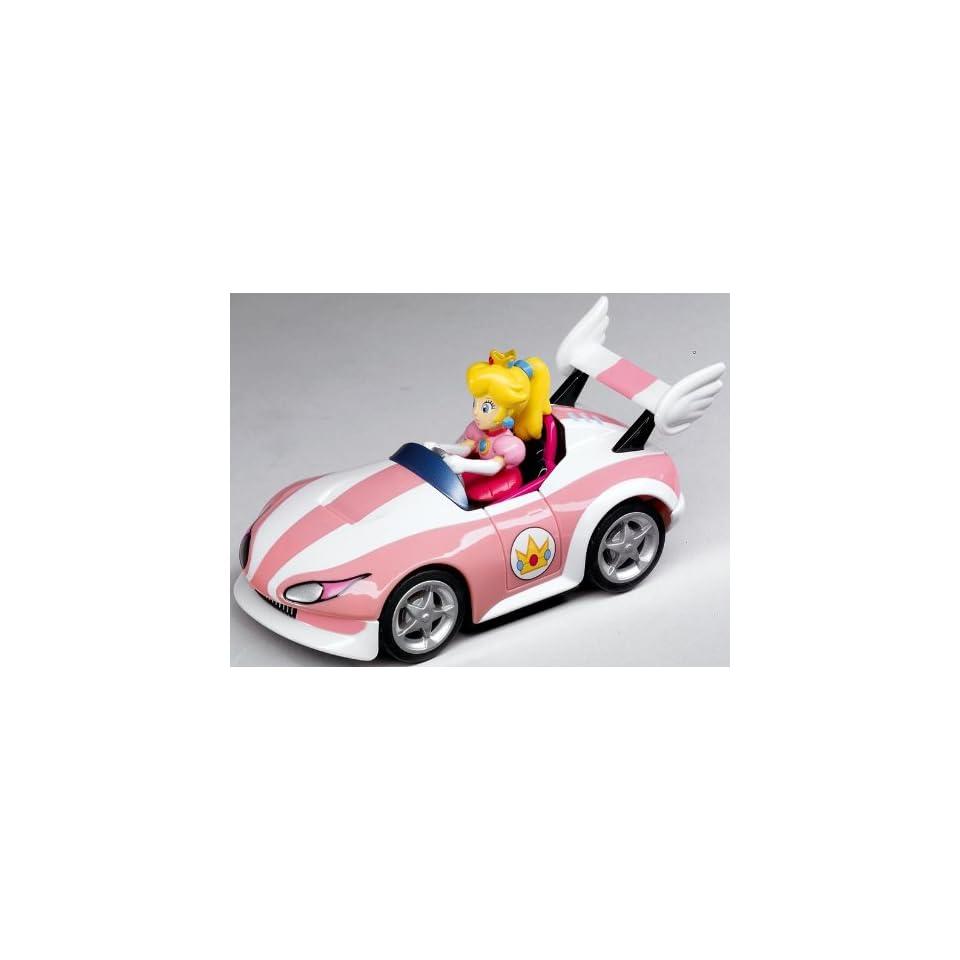 Mario Kart Wii Pull Speed Car Peach