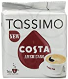 from Tassimo TASSIMO Costa Americano 16 T DISCs (Pack of 5, Total 80 T DISCs)