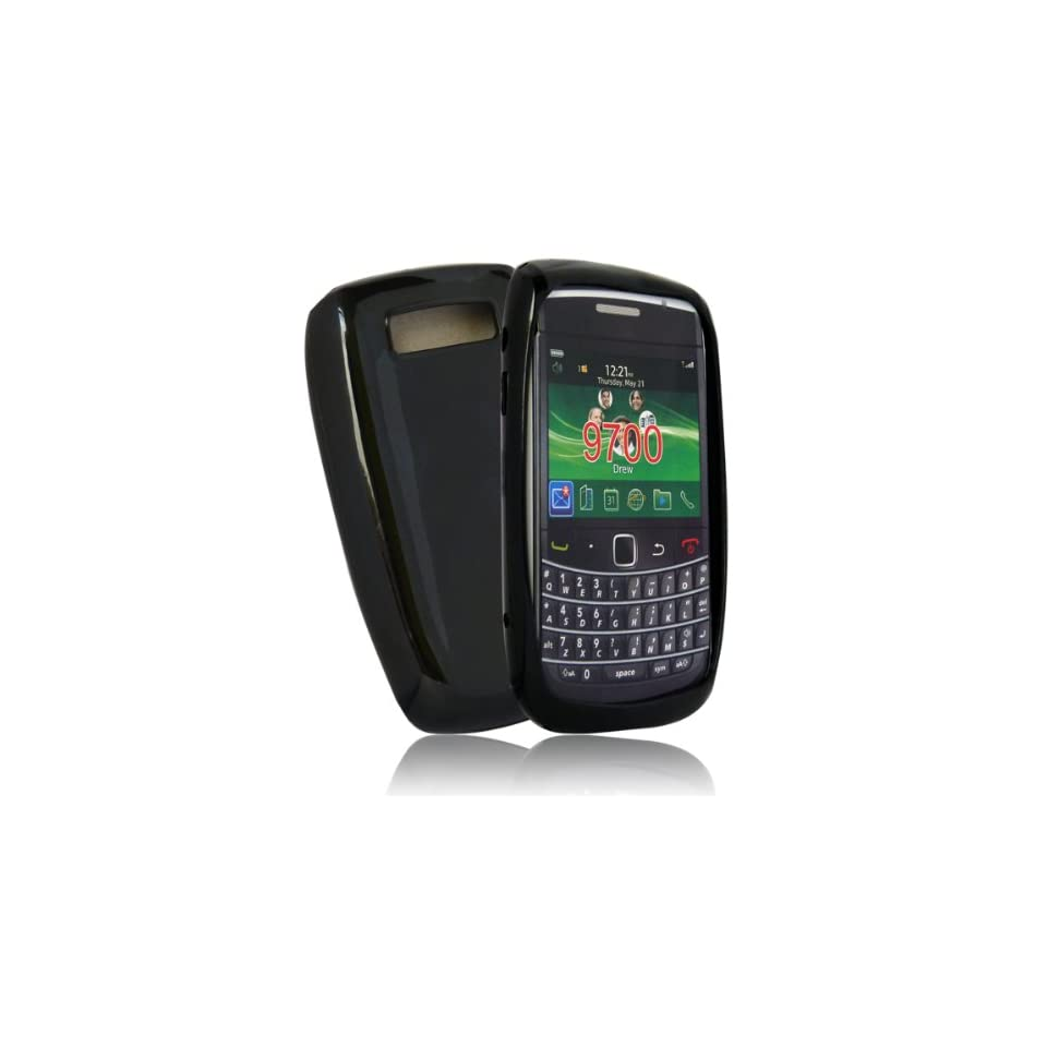 mobile palace  Black gel case cover pouch holster for blackberry bold 9780