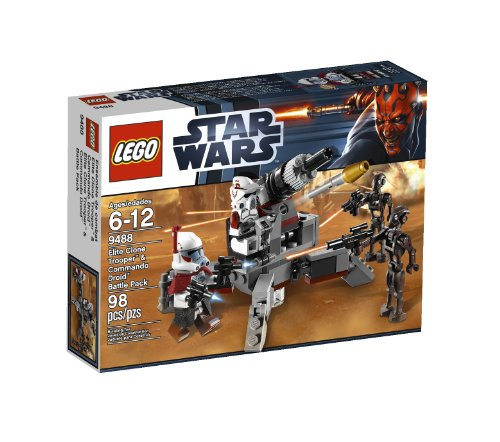 LEGO Star Wars Elite Clone Trooper and Commando Droid B 9488 Amazon.com