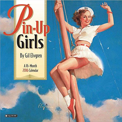 Orange Circle Studio 16-Month 2016 Wall Calendar, Pinup Girls by Gil Elvgren