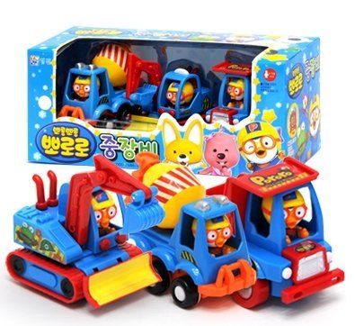 Pororo Heavy Equipment Play Toy Car