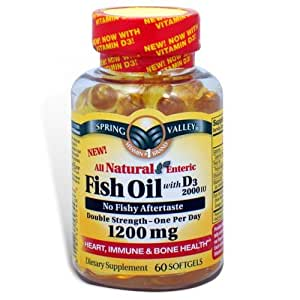 Spring valley fish oil 1200 mg with vitamin for Spring valley fish oil 1200 mg