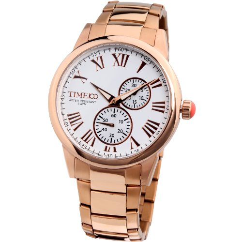 time100-mens-all-steel-luminous-blue-dial-fashion-watch-w80004g03a