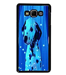 PrintDhaba Spot Dog D-3893 Back Case Cover for SAMSUNG GALAXY E7 (Multi-Coloured)