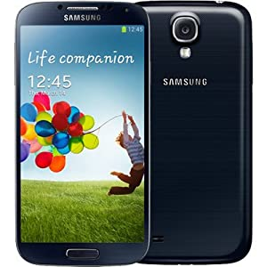 Samsung Galaxy S4 i9505 16GB 4G/LTE Black Factory Unlocked, International Version