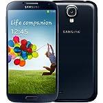 Samsung Galaxy S4 i9505 16GB 4G/LTE Black Factory Unlocked, International Version/Warranty (No 4G in USA)