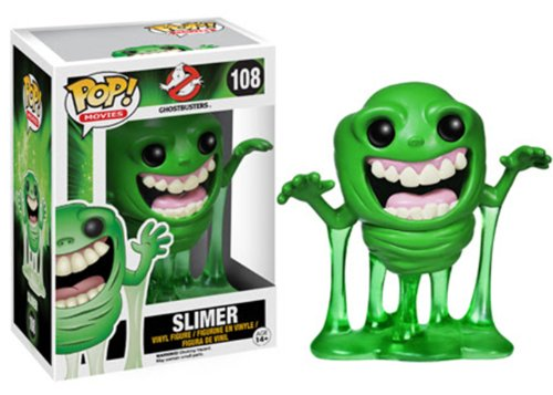 Funko Pop! Movies: Ghostbusters - Slimer Action Figure