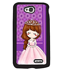 Printvisa 2D Printed Girly Designer back case cover for LG L70 D325 - D4446