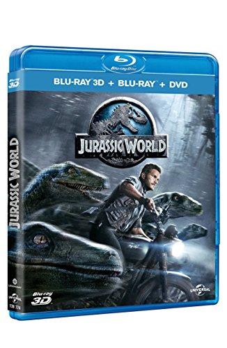 Mundo Jurasico Jurassic World , Pelicula En Blu-ray + 3D Español Latino