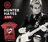 Hunter Hayes: Live (CD + Medium T-Shirt)