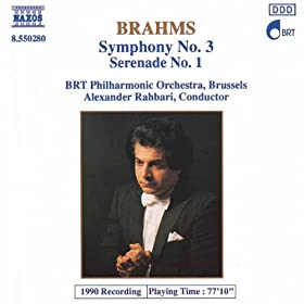 Brahms: Symphony No. 3 / Serenade No. 1