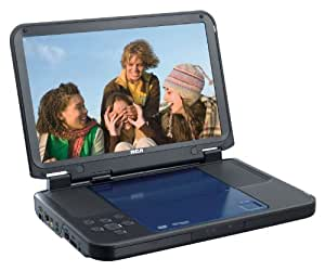 RCA DRC6331 Portable DVD Player with 10-Inch LCD Screen