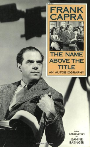 Image of The Name Above the Title: An Autobiography