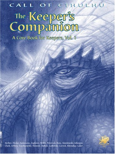 The Keeper's Companion Vol. 1 (Call of Cthulhu Roleplaying Game, 2388)