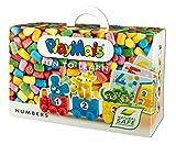 PlayMais - Fun to Learn Numbers, 550 piezas, juego de manualidades (Loick Biowertstoff GmbH 22AH160170)