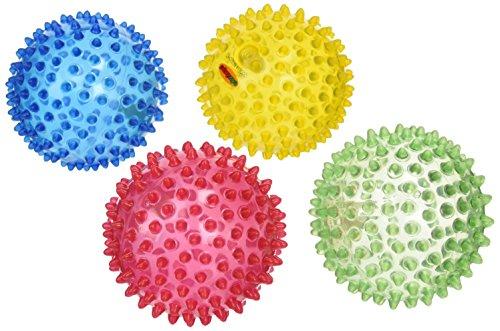 Edushape See-Me Sensory Balls, Translucent, 4 Count Image