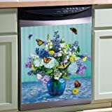 Butterflies & Flowers Dishwasher Cover