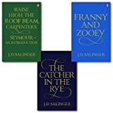 J. Salinger J. Salinger Collection 3 Books Set, (the catcher in the rye, Franny and Zooey and raise high the roof beam, carpenters/seymour)