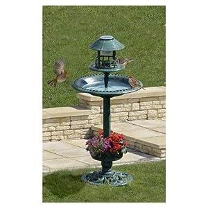 Vasque solaire de jardin pour oiseaux for Jardiniere vasque jardin