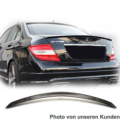 Mercedes-Benz-W204-C-Klasse-Tuning-Kfz-teile-Heckklappen-Heckspoiler-Aerodynamik