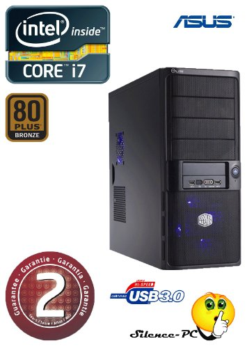 ANKERMANN-PC i7 3770 (4x3,40GHz) | NVIDIA GeForce GTX 650 2GB | 8GB RAM DDR3 | 2,0TB HDD SATA3 | Cardreader 75in1 | MB ASUS P8B75-M USB3.0 | 24xDVD-Writer | USB 3 | Netzteil 600Watt | Case Coolermaster ELITE 335 | PC mit 2 Jahre echte GARANTIE