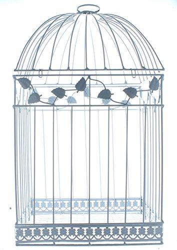 Fun Express White Birdcage Wedding Gift Card Holder 4