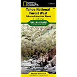 Tahoe National Forest: Yuba and American Rivers (National Geographic: Trails Illustrated Map #804) (National Geographic...