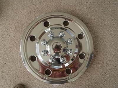 "16"" Stainless Steel Trailer Rim Wheel Covers"