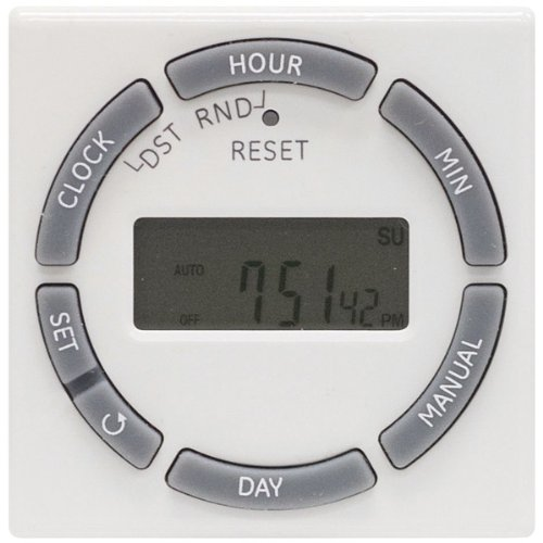 Ge 7-Day On/Off Plug-In Digital Timer With Random Security Feature