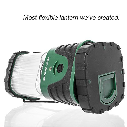Super-Bright-LED-Lantern-Best-Seller-Camping-Lantern-Multiple-Modes-Suitable-for-Hiking-Camping-Emergencies-Hurricanes-Outages-Super-Bright-Lightweight-Water-Resistant-Black-and-Green-X-Base-Divine-LE