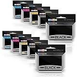 Prestige Cartridge HP 364XL Cartouche d'encre compatible HP364XL avec puce pour HP Imprimante Lot de 10 avec Photo