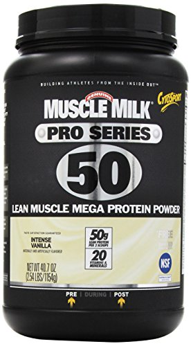 Cytosport Muscle Milk Pro Series Intense Supplement, Vanilla, 2.54 Pound