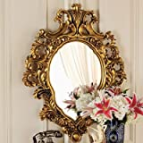 Design Toscano Madame Antoinette Salon Mirror in Faux Antique Gold
