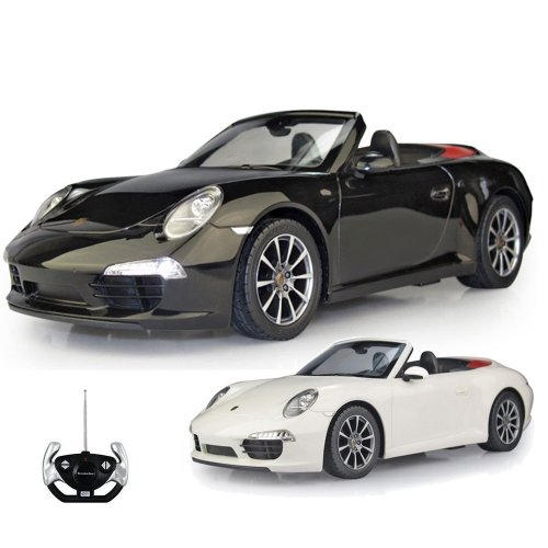 PORSCHE 911 CARRERA S - RC ferngesteuertes Lizenz-Fahrzeug im Original-Design, Modell-Maßstab 1:12, Ready-to-Drive, Auto inkl. Fernsteuerung, Neu