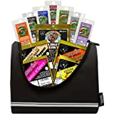 Buffalo Bills 1.75oz Beef Jerky Football 6-Pack Gift Cooler (filled with 12 assorted jerky packs)