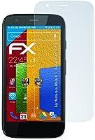 3 x atFoliX Motorola Moto G (1. Generation 2013) Protecteur d'Écran - FX-Clear ultra claire
