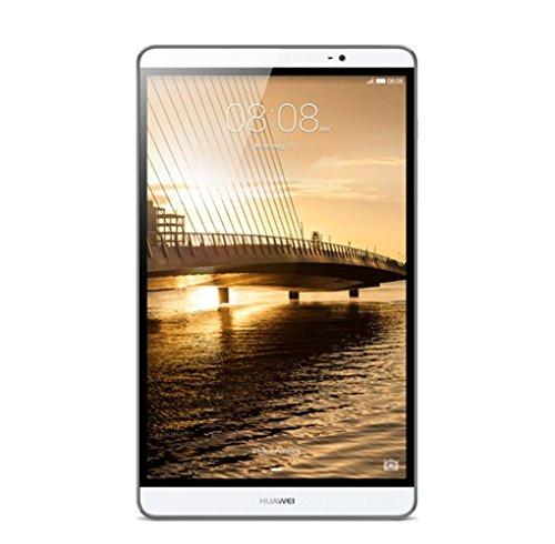 Huawei タブレット Mediapad M2 8.0 SIMフリー (Android 5.1 + EMUI 3.1/8.0型/Hisilicon Kirin 930 オクタコア)  シルバー  [OCN モバイル ONE マイクロSIM付] M2-802L SIMSET