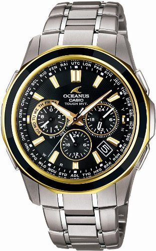 CASIO (カシオ) 腕時計 OCEANUS Manta オシアナス マンタ Transpacific Yacht Race 2009 Commemorative Winner's Edition TOUGH MVT タフソーラー 電波時計 MULTIBAND6 OCW-S1250TT-1AJR メンズ