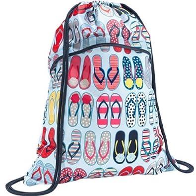 Thirty-One Cinch Sac in Fun Flops - 3039 - No Monogram: Handbags