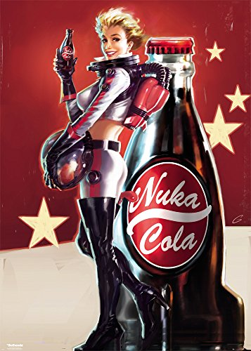GB eye LTD, Fallout 4, Nuka Cola, Poster Gigante, 100 x 140 cm