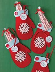 Martha Stewart Crafts Holiday Felt Mitten Treat Bags