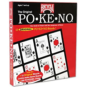 Original Po-Ke-No Red Card Game by Bicycle