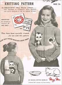 Graph Style Knitting Pattern : Mary Maxim Graph-style Knitting Pattern No. 469,