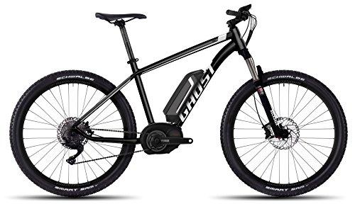 GHOST Bikes Teru 5 black/grey/white E-Bike - 27.5 500Wh 9-Gang Deore Größe L Modell 2016